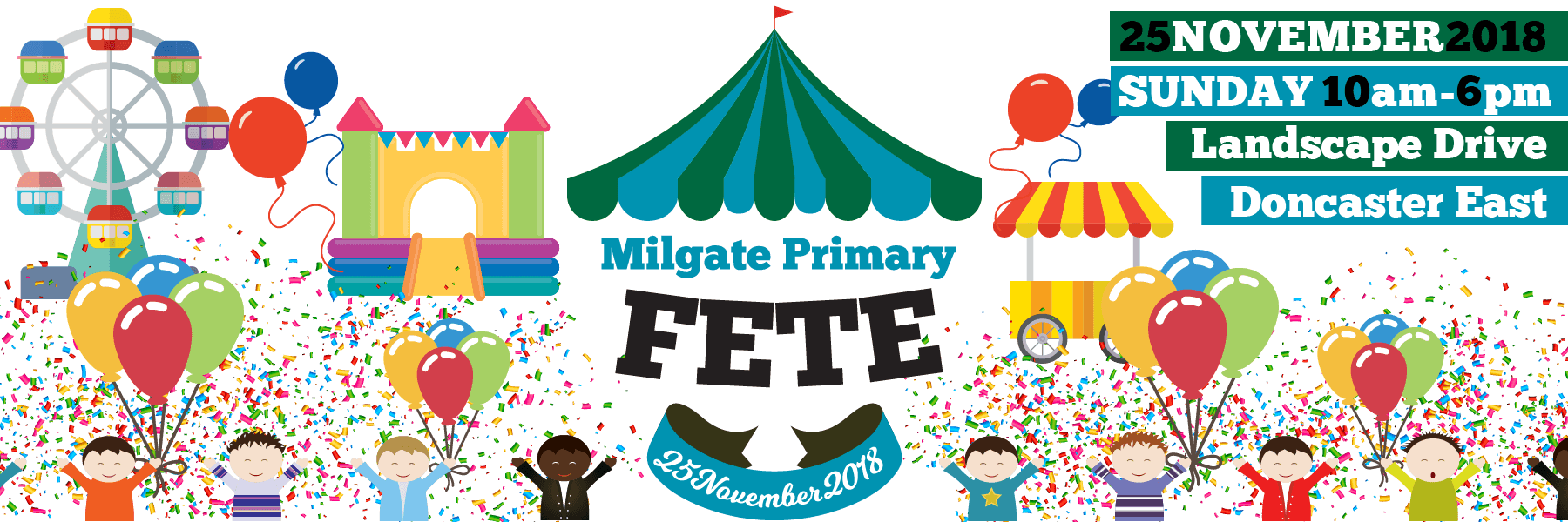 Milgate Primary School | IB World School | East Doncaster | Fete 2018
